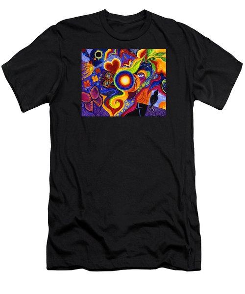 Magical Eclipse Men's T-Shirt (Athletic Fit)