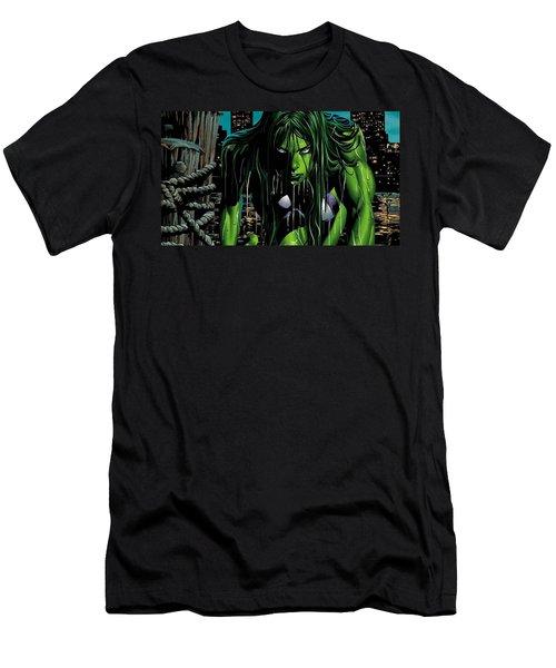 She-hulk Men's T-Shirt (Athletic Fit)