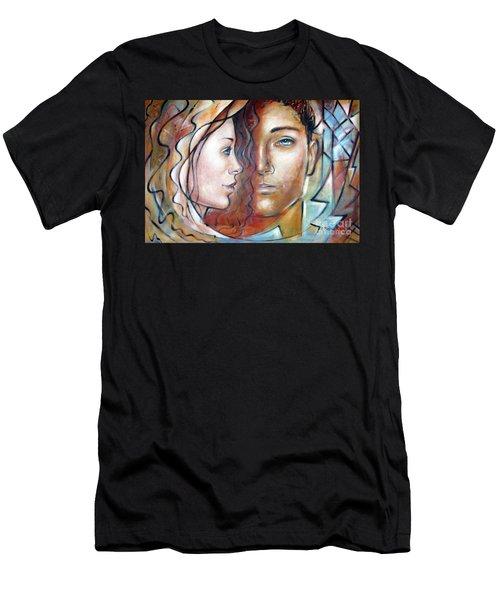 She Loves Me 140709 Men's T-Shirt (Athletic Fit)