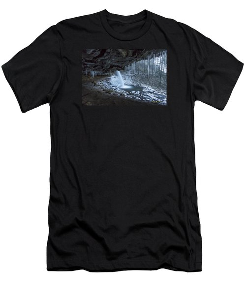 Sheltered From The Blizzard Signed Men's T-Shirt (Athletic Fit)