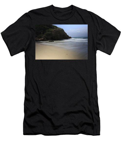 Silent. Men's T-Shirt (Slim Fit) by Shlomo Zangilevitch