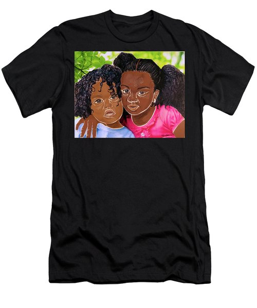 My Little Sister Men's T-Shirt (Athletic Fit)