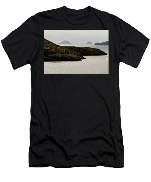 Skellig Islands, County Kerry, Ireland Men's T-Shirt (Athletic Fit)