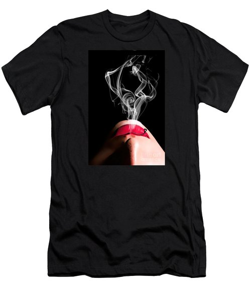 Smoke Men's T-Shirt (Slim Fit) by Tbone Oliver
