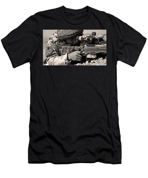 Sniper Men's T-Shirt (Athletic Fit)
