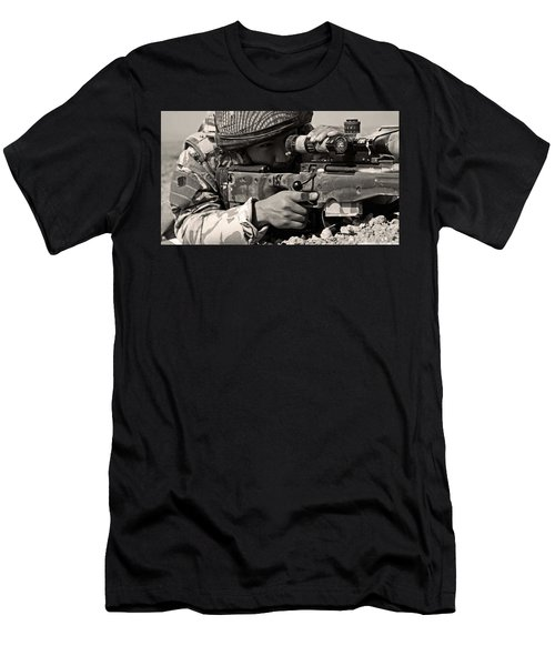 Sniper Men's T-Shirt (Athletic Fit)