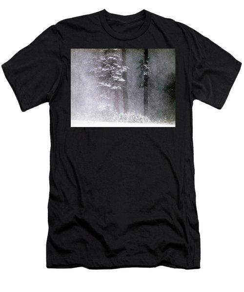 Snow Storm Men's T-Shirt (Athletic Fit)