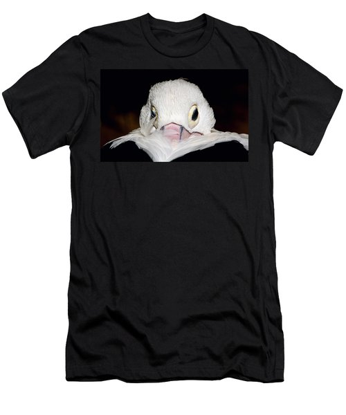 Men's T-Shirt (Slim Fit) featuring the photograph Snuggled by Marion Cullen