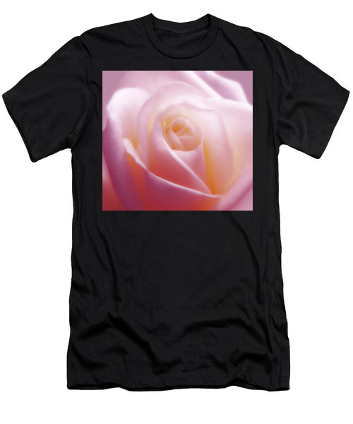 Soft Nostalgic Rose Men's T-Shirt (Athletic Fit)