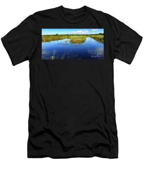 Somerset Levels Men's T-Shirt (Athletic Fit)