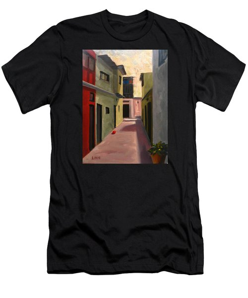 Somewhere In The City, Peru Impression Men's T-Shirt (Athletic Fit)