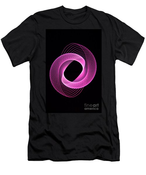 Spirograph Spiral 06 Men's T-Shirt (Athletic Fit)