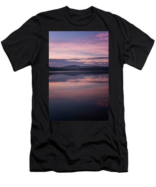 Spofford Lake Sunrise Men's T-Shirt (Athletic Fit)