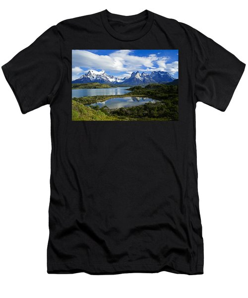 Springtime In Patagonia Men's T-Shirt (Athletic Fit)