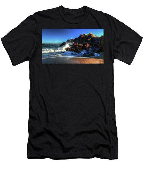 St Ives North Beach  Men's T-Shirt (Athletic Fit)