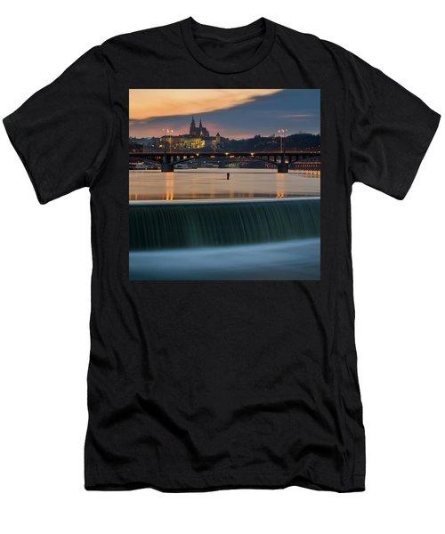 St. Vitus Cathedral, Prague, Czech Republic Men's T-Shirt (Athletic Fit)