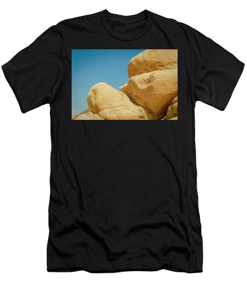 Stacked Boulders Joshua Tree Men's T-Shirt (Athletic Fit)