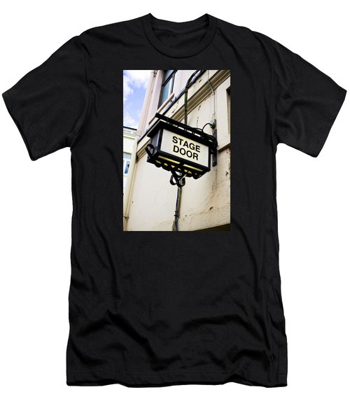Stage Door Sign Men's T-Shirt (Athletic Fit)