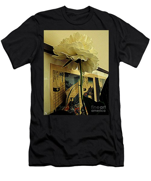Men's T-Shirt (Slim Fit) featuring the photograph Standing Tall by Nancy Kane Chapman