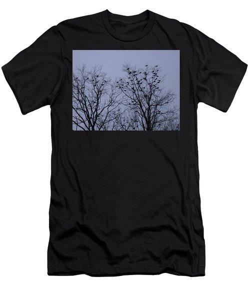 Starlings Men's T-Shirt (Athletic Fit)