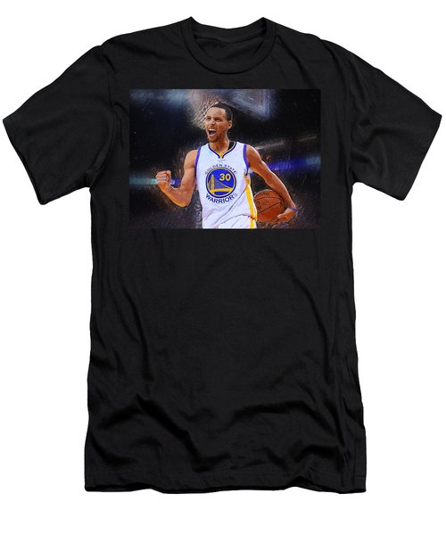 Stephen Curry Men's T-Shirt (Athletic Fit)