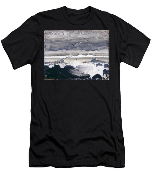 Stormy Sea Men's T-Shirt (Athletic Fit)