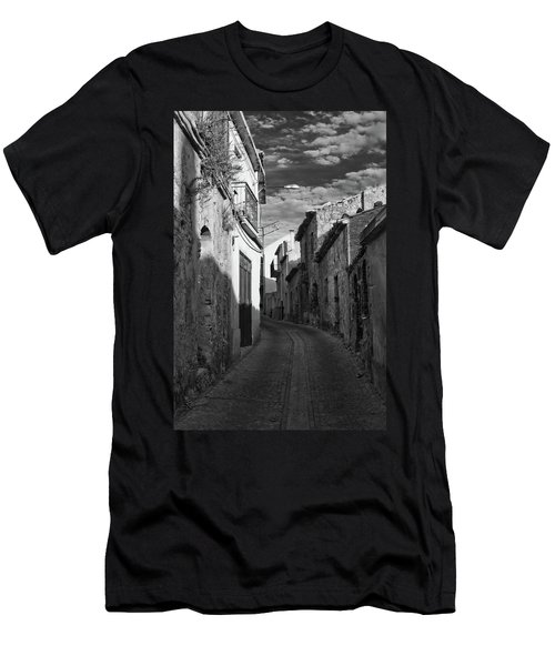 Street Little Town Men's T-Shirt (Athletic Fit)