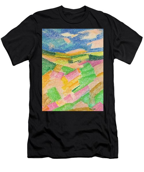 Summer Fields  Men's T-Shirt (Athletic Fit)