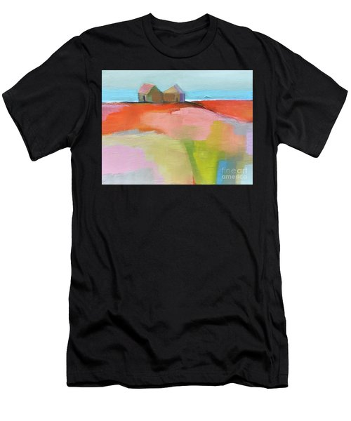 Men's T-Shirt (Athletic Fit) featuring the painting Summer Heat by Michelle Abrams