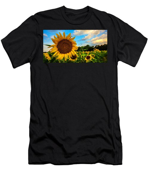 Summer Suns  Men's T-Shirt (Athletic Fit)