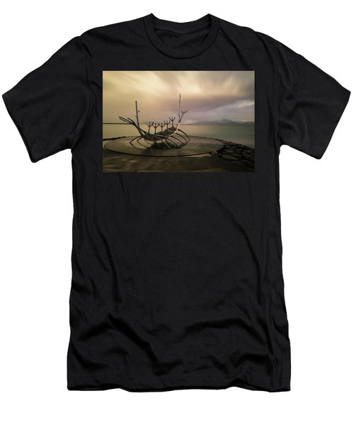 Sun Voyager Men's T-Shirt (Slim Fit) by Allen Biedrzycki