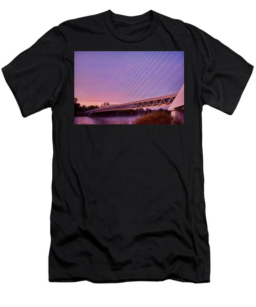 Sundial Bridge Men's T-Shirt (Athletic Fit)