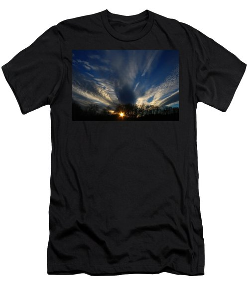 Sundown Skies Men's T-Shirt (Slim Fit) by Kathryn Meyer