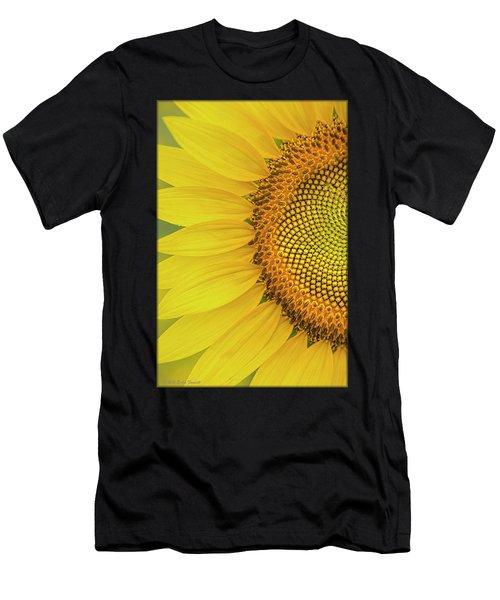 Sunflower Petals Men's T-Shirt (Athletic Fit)