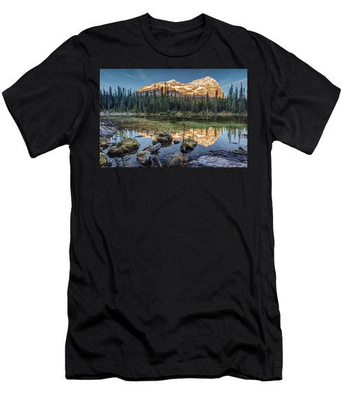 Sunrise In The Rocky Mountains Men's T-Shirt (Athletic Fit)