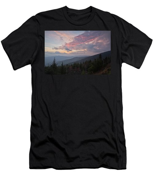 Sunset At Clingman's Dome Men's T-Shirt (Athletic Fit)