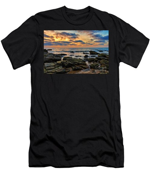 Sunset At Crystal Cove Men's T-Shirt (Athletic Fit)