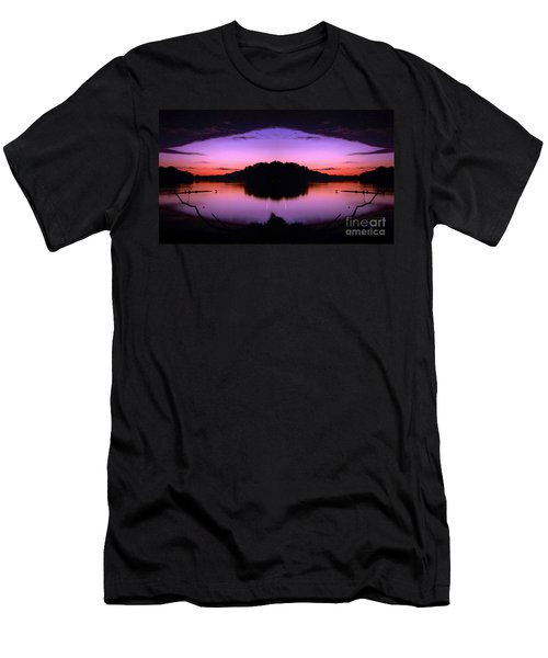 Sunset Kiss Men's T-Shirt (Athletic Fit)