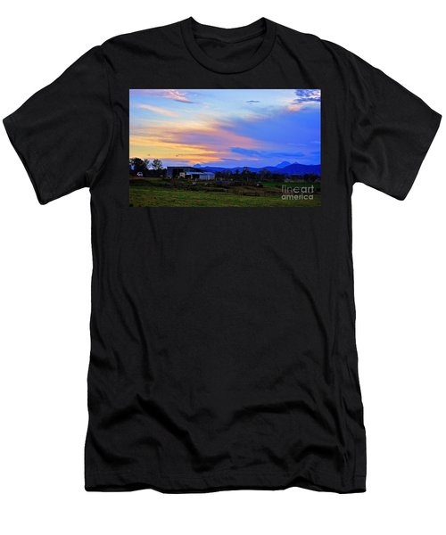 Sunset Over The Great Divide Men's T-Shirt (Athletic Fit)