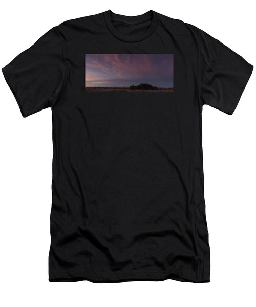 Sunset Over The Wetlands Men's T-Shirt (Athletic Fit)