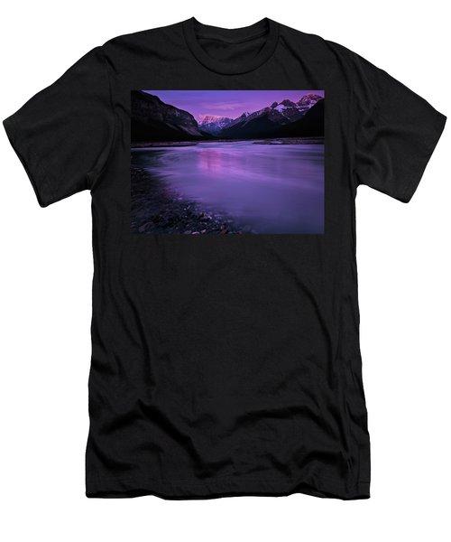 Sunwapta River Men's T-Shirt (Athletic Fit)