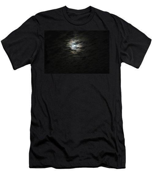 super moon II Men's T-Shirt (Slim Fit) by Irma BACKELANT GALLERIES