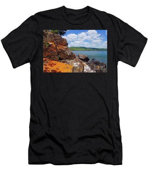 Superior Lichens Men's T-Shirt (Athletic Fit)