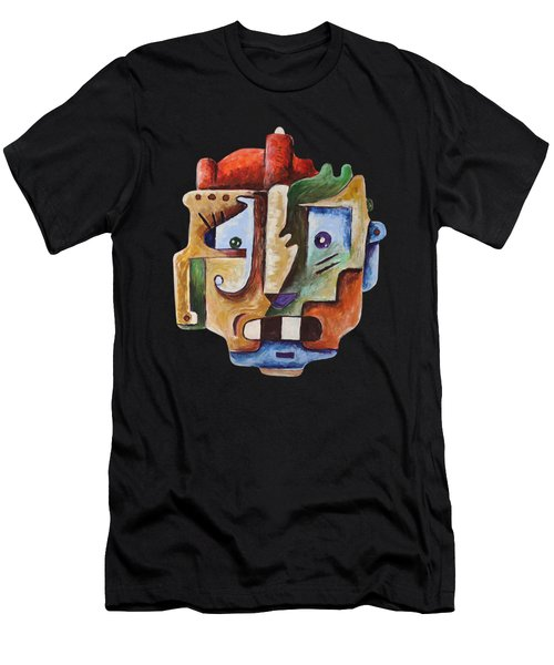 Surrealism Head Men's T-Shirt (Athletic Fit)