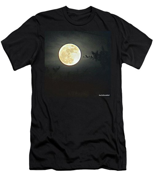 Sweet Dreams And A Full #moon Men's T-Shirt (Athletic Fit)