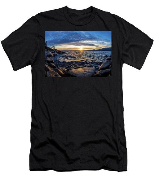 Tahoe Sunset Men's T-Shirt (Athletic Fit)