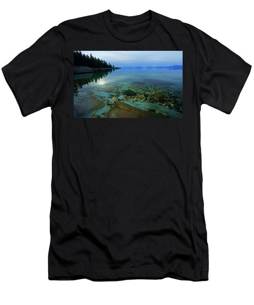 Men's T-Shirt (Athletic Fit) featuring the photograph Tahoe Twilight by Sean Sarsfield