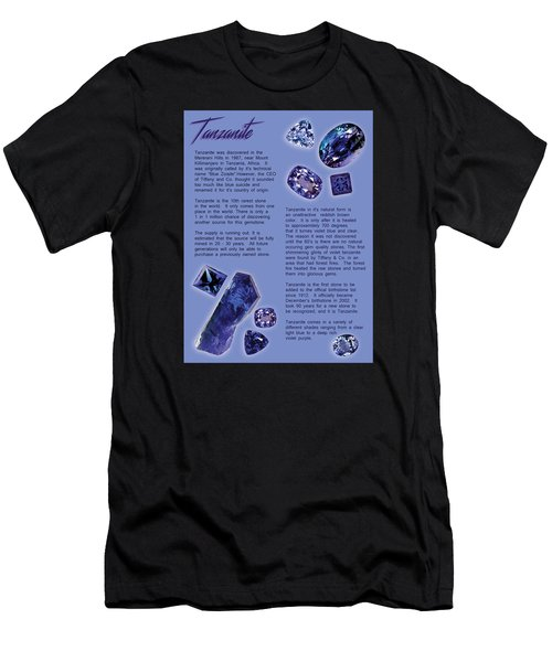Tanzanite Brochure-inside Men's T-Shirt (Athletic Fit)