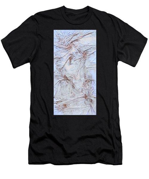 Textured Sunshine Men's T-Shirt (Athletic Fit)