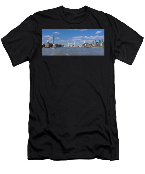 Men's T-Shirt (Athletic Fit) featuring the photograph Thames View by Stewart Marsden